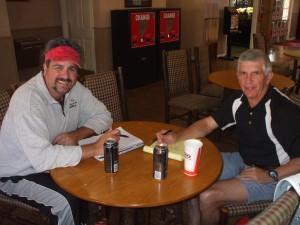 Scott Paschal and Breck Christian Tennis Tour