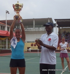 In 2008 Ana Won 2 Pro Titles and Made the Quarter Final of Another