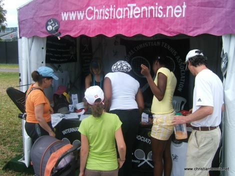 Sony Ericsson Open booth 3
